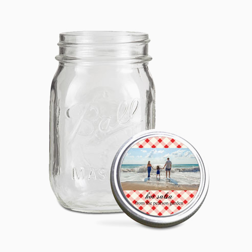 Jar Toppers | Gingham