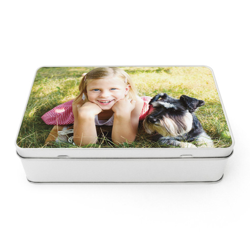 Rectangle Gift Tin
