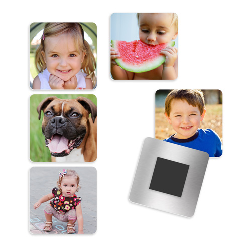 Metallic Magnet Set of 6