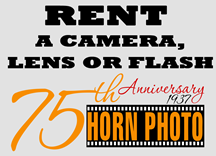 Horn Photo Camera Rental Program